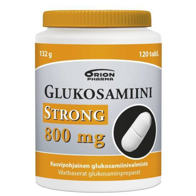 GLUKOSAMIINI STRONG 800 MG 120 TABL