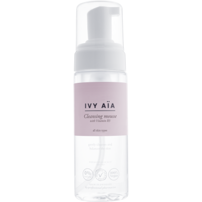 Ivy Aia Cleansing mousse with Vitamin B3 150 ml