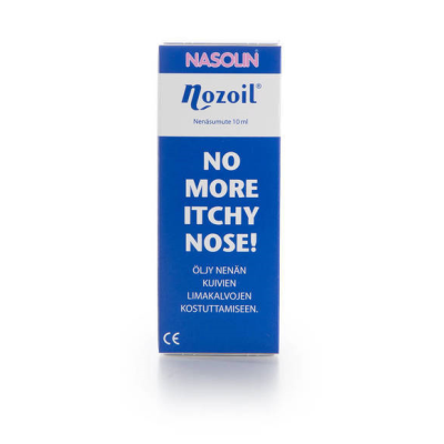 NASOLIN NOZOIL NENÄSUMUTE X10 ML