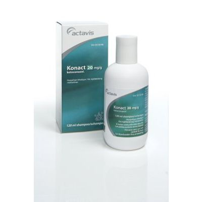 KONACT 20 mg/g shampoo 120 ml