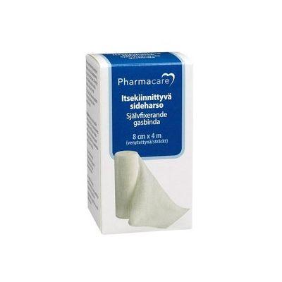 Pharmacare Itsekiinn. sideharso 8cmx4m X1 kpl