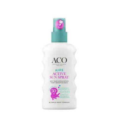 ACO SUN Kids Active sun spray spf 50+ 175 ml