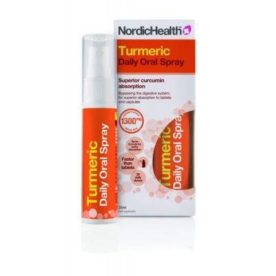 NordicHealth Kurkuma suusuihke 25 ml