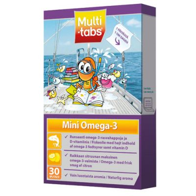 MULTI-TABS MINI OMEGA-3 X30 FOL