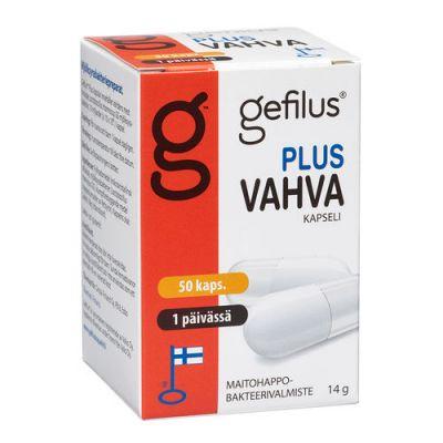 Gefilus Plus Vahva 50 50 kaps
