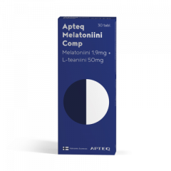 Apteq Melatoniini Comp 1,9mg 30 tabl