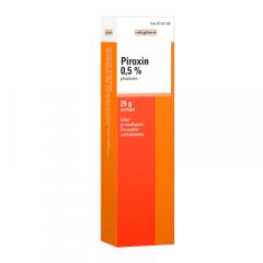 PIROXIN 0,5 % geeli 25 g